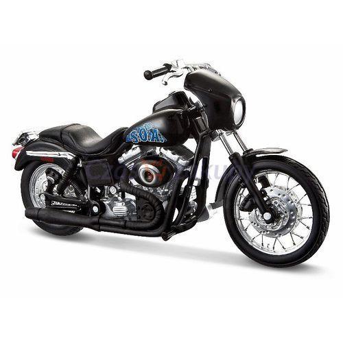 Maisto  motocykl harley davidson - 2006 fxdbi dyna street bob alex