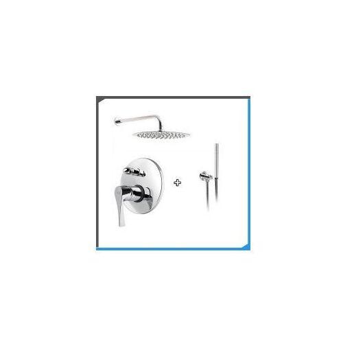 Zestawy Podtynkowy zestaw prysznicowy z loge selena se10, chrom zest184