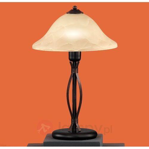 colonial lampa stołowa rudy, 1-punktowy - dworek - obszar wewnętrzny - colonial - czas dostawy: od 4-8 dni roboczych marki Honsel