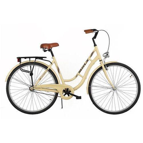 Rower DAWSTAR Moly Cappuccino + WYPRZEDAŻ! - Skorzystaj z wyjątkowej oferty rowerowej! + 5 lat gwarancji na ramę! (5901986491637)