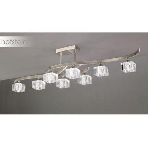 cuadrax lampa sufitowa nikiel matowy, 8-punktowe - nowoczesny - obszar wewnętrzny - cuadrax - czas dostawy: od 10-14 dni roboczych marki Mantra