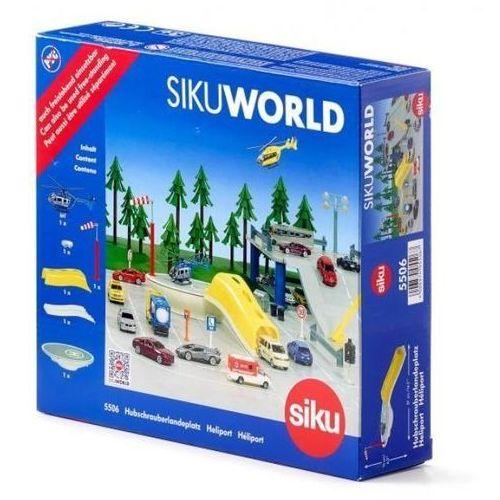 Zabawka helikopter z lądowiskiem marki Siku