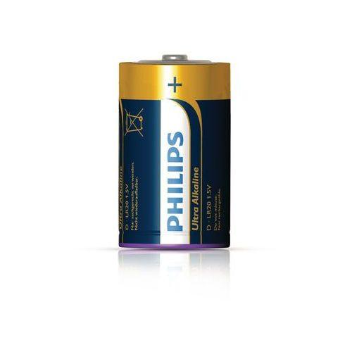 Baterie alkaliczne Philips Ultra Alkaline LR20 D (blister) 2 sztuki (bateria elektryczna)