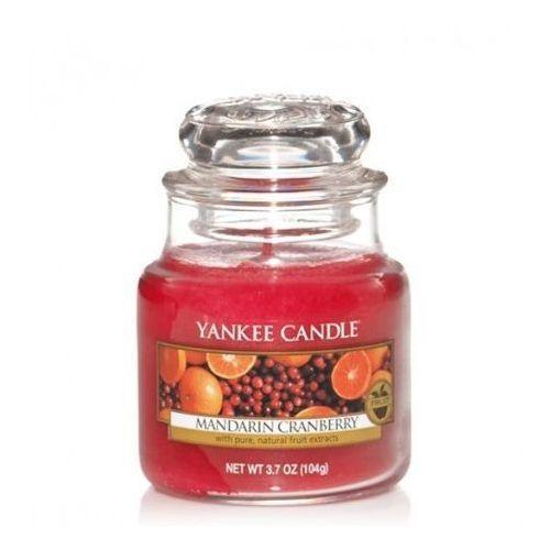 Yankee Candle Mandarin Cranberry Świeca zapachowa słoik mały 104g (5038580062052)