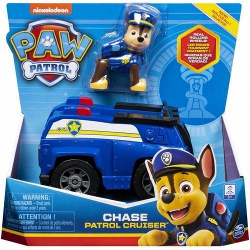 Pojazd z figurką, chase psi patrol marki Spin master