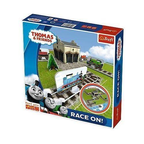 Gra race on! tomek i przyjaciele marki Trefl