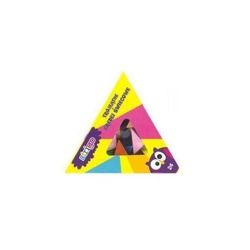 Strigo Kredki świecowe trójkątne 24 sztuki