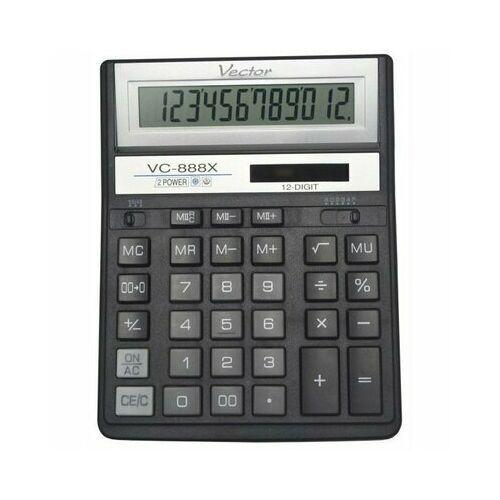 Kalkulator kav vc-888x bl 12 pozycyjny -. marki Vector