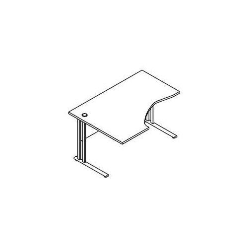 Biurko kątowe BM26 wymiary: 137x100x75,8 cm