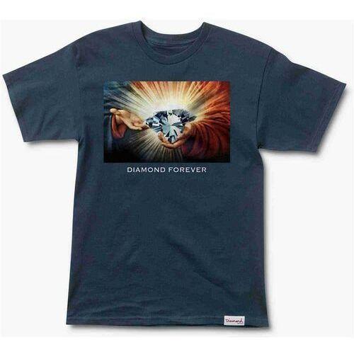 Koszulka - diamond forever 16 tee navy (nvy) rozmiar: s marki Diamond