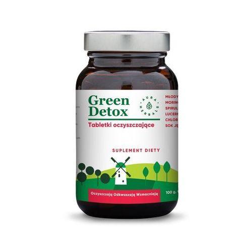 Aura herbals Green detox - tabletki oczyszczające (75 tabl.) (5902479610474)