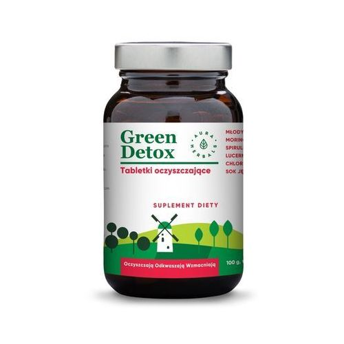 Green Detox - tabletki oczyszczające (75 tabl.), 5902479610474