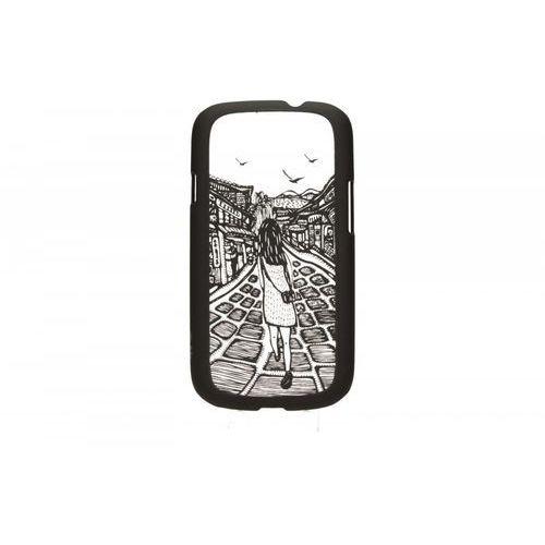 TB Etui Samsung S3 dziewczyna czarny z kategorii Futerały i pokrowce do telefonów