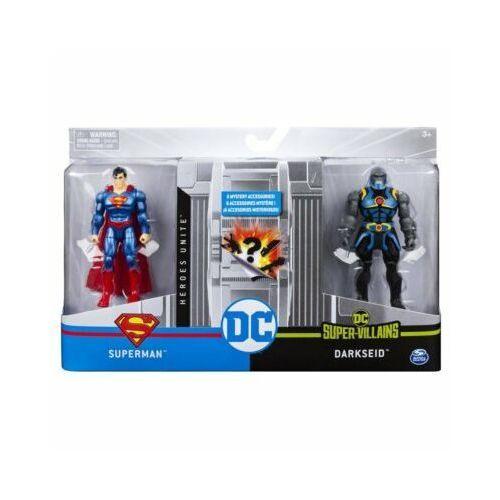 Zestaw z figurkami 4 Superman VS Darkside 1 DC