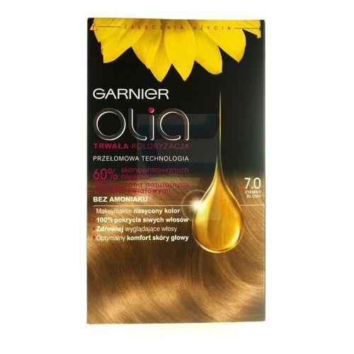 Garnier Olia farba do włosów bez amoniaku ciemny blond nr 7.0 (3600541298507)