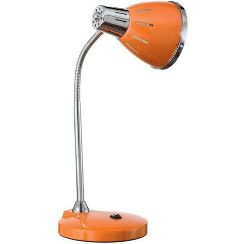 Ideal lux 015262 - lampa stołowa elvis 1xe27/60w/230v pomarańczowa