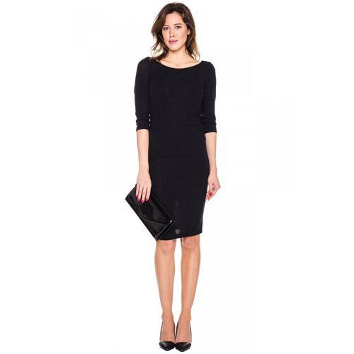 Elegancka sukienka z efektem brokatu - De Facto