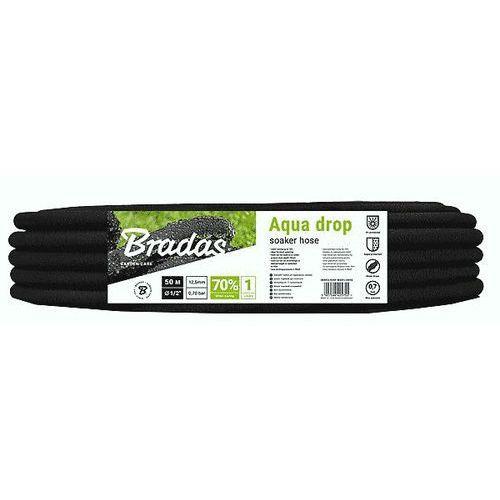Wąż nawadniający 1/2'' 50m Bradas AQUA-DROP (5907544425755)