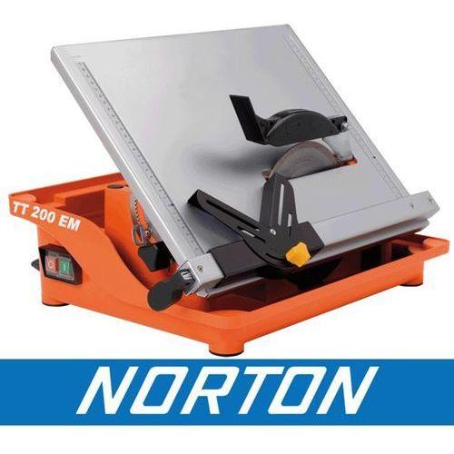 NORTON CLIPPER TT200 EM PIŁA PILARKA PRZECINARKA DO CERAMIKI GLAZURY PŁYTEK BUDOWLANA + WALIZKA EWIMAX - OFICJALNY DYSTRYBUTOR - AUTORYZOWANY DEALER NORTON CLIPPER