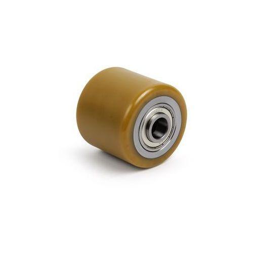Rolka widłowa, poliuretan, dł. mocowania 82 mm, szer. rolki 75 mm. Z poliuretanu