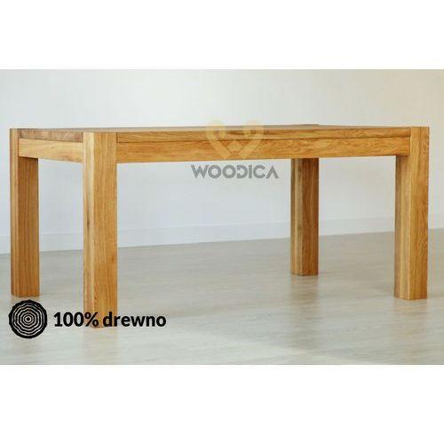 Woodica Stół dębowy genewa 01 rozkładany 90x75x90