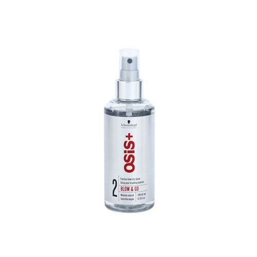 osis+ blow & go spray do ekspresowego wysuszenia włosów 2 medium control (express blow-dry spray) 200 ml, marki Schwarzkopf professional