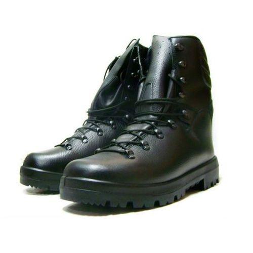Trzewiki wojskowe czarne 933 Mon 30,5