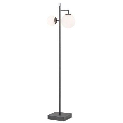 Argon aspen 803 lampa podłogowa 2x15 e27 grafit (5902553218473)
