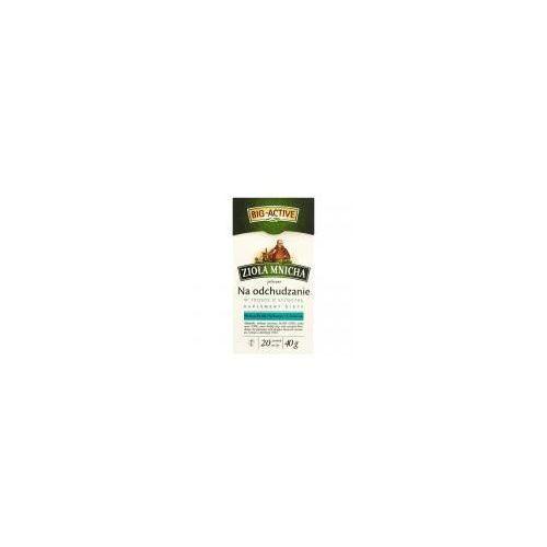 Herbatka ziołowa mnicha na odchudzanie big-active zioła suplement diety 40 g (20 torebek) marki Bio active
