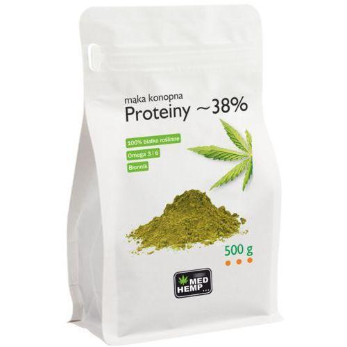 Med Hemp - Mąka konopna - Proteiny 500g (5906395456192)