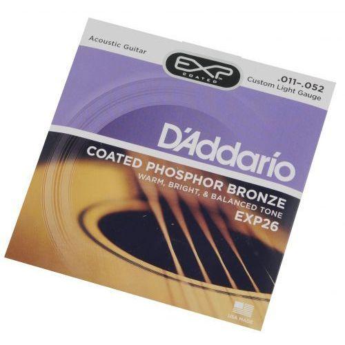 D′Addario EXP 26 struny do gitary akustycznej 11-52