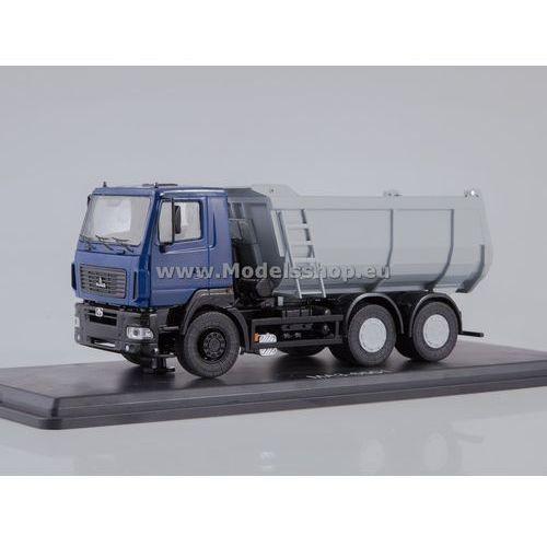 MAZ-6501 U-shape Dumper Truck (dark blue/grey)