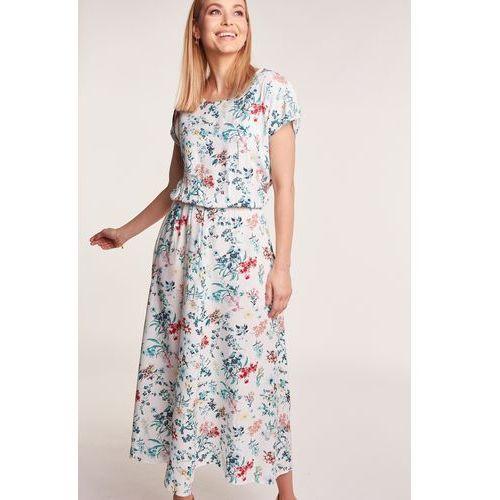 Sukienka midi w kwiaty marki Jelonek