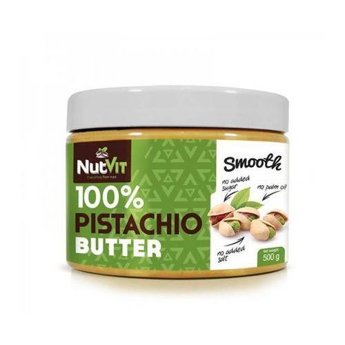 Nutvit 100% pistachio butter smooth 500g marki Ostrovit