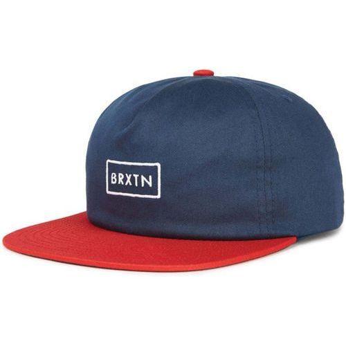 Czapka z daszkiem - rift mp snbk navy/red (nvred) rozmiar: os marki Brixton