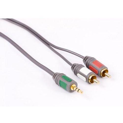 Kabel BRIDGE Wt 3.5mm - 2 x RCA 5m (5907707061059)