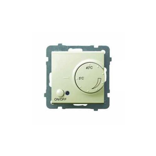 Ospel AS ecru - regulator temperatury RTP-1G/m/27 (5907577452742)