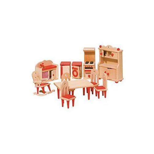 Wyposażenie domków - Kuchnia czerwona (4013594519519)