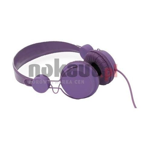 4World Color- słuchawki bez regulacji głośności