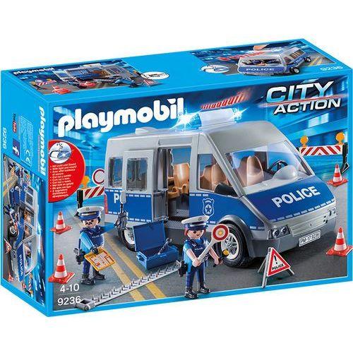 Playmobil CITY ACTION Bus policyjny 9236