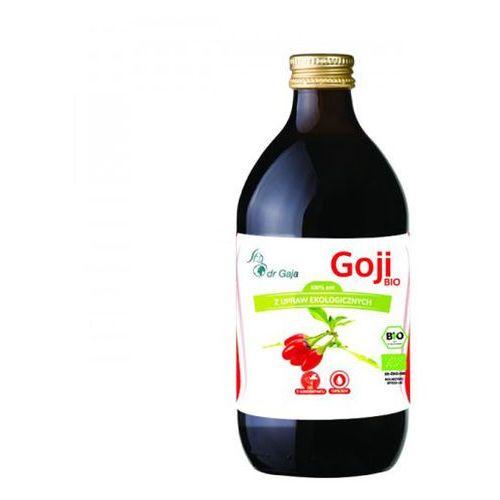 Organiczny 100% sok z jagód Goji 500ml Dr Gaja (5060308820422)