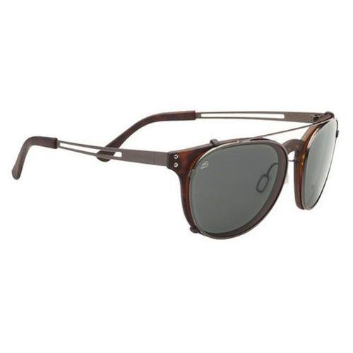 Okulary słoneczne  palmiro with clip-on polarized 8055 marki Serengeti