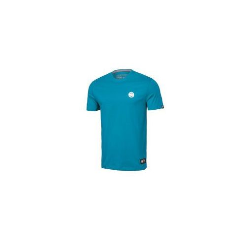 Koszulka Pit Bull Small Logo'19 - Błękitna (219001.5300), 219001.5300