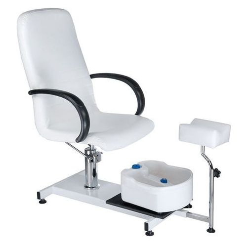 Beauty system Fotel do pedicure z masażerem stóp bw-100 white