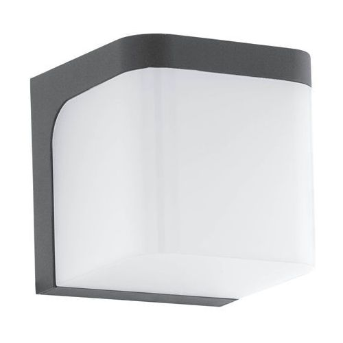 Eglo Kinkiet jorba 96256 lampa ścienna 1x6w led antracyt/biały
