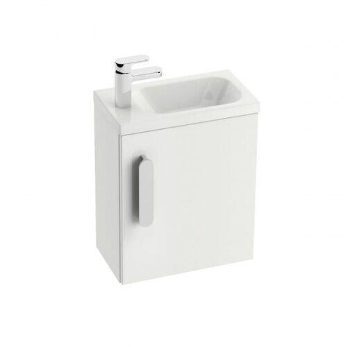 Ravak Chrome SD drzwi szafki 40 cm prawe biały połysk X000000541, kolor biały