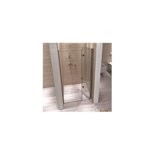 REA MYSPACE N Drzwi prysznicowe 100x190, profile chrom, szkło transparentne EasyClean, DRZWI_MY_SPACE_N_100