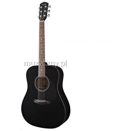 Fender CD 60 BK DS V2 gitara akustyczna zestaw