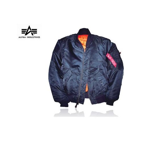 Kurtka ma-1 flyers replica blue marki Alpha industries