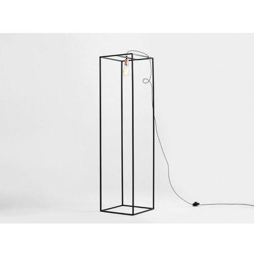 Lampa podłogowa custoform metric floor s - czarny marki Customform